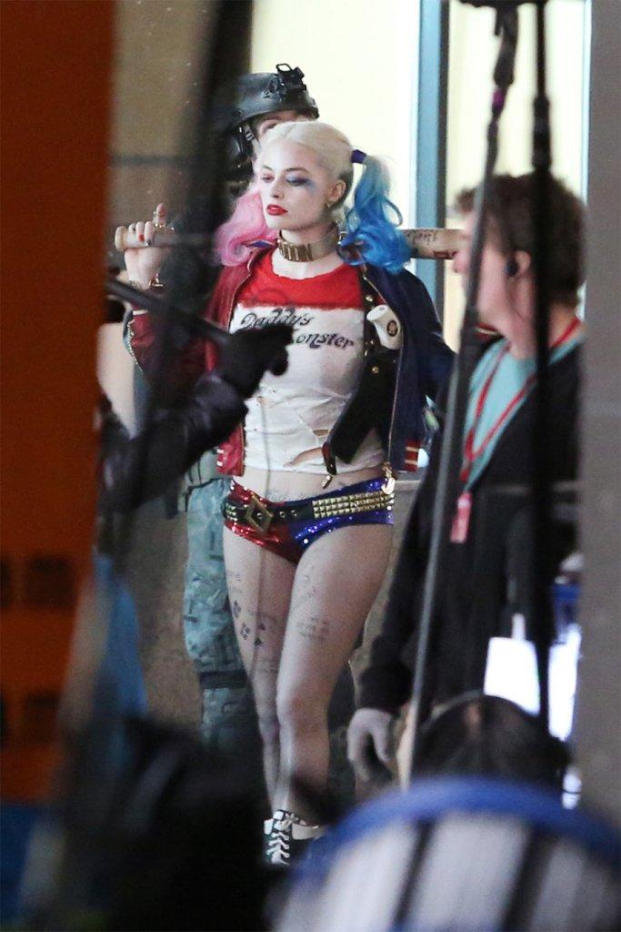 Margot Robbie = Harley Quinn